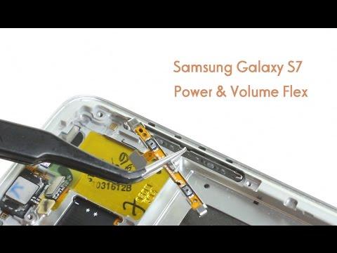 Samsung Galaxy S7 Power & Volume Button Flex Repair Guide