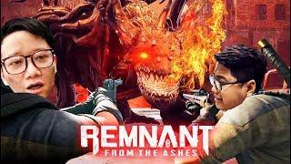 """KÌ TÍCH TEAM ĐỤT HẠ GỤC BOSS RỒNG DÙ BỊ """"KHÍCH ĐỂU"""" LEVEL MAX =)))) - Remnant From the Ashes #2"""