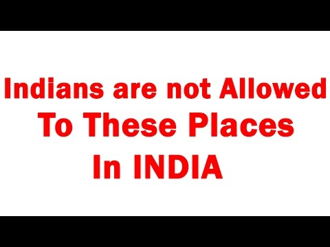 Thumbnail: Banned Places In india For Indians | Indian Are Not Allowed To These Place In India