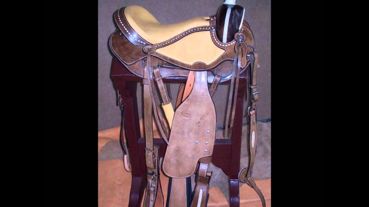 Sillas para caballos talabarteria ppp youtube for Sillas para caballos