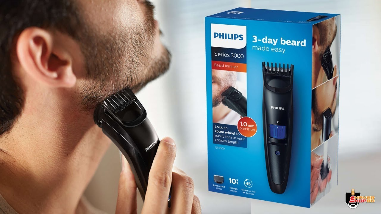 QT12 Philips New Beard Trimmer & Hair Clipper Unboxing Review ( Shaver  Shop Bangladesh)