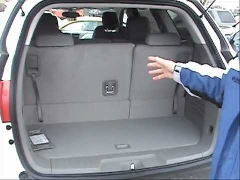 How to Fold the Rear Seats Down in a Chevy Traverse - Don ...