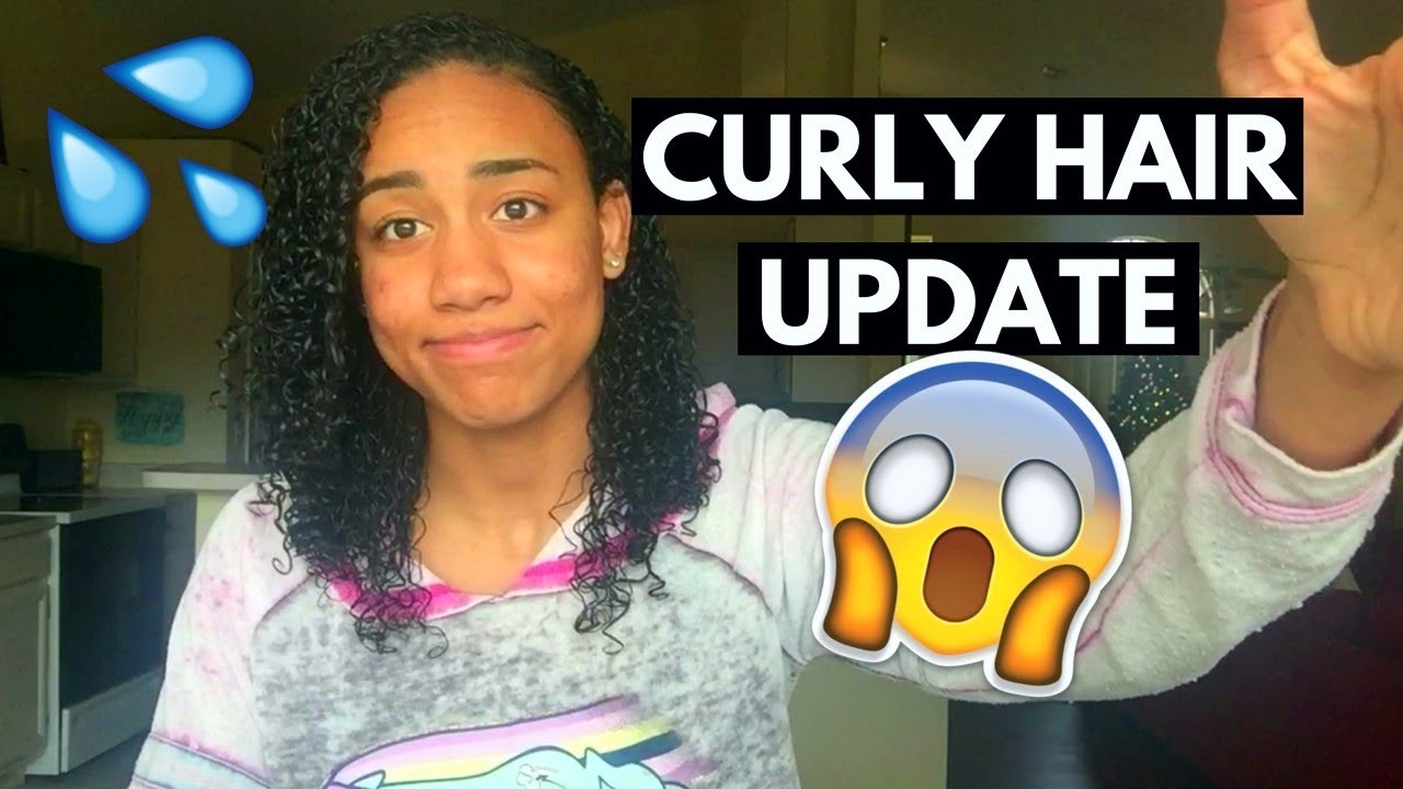 MY HAIR WAS FALLING OUT! 😱Curly Hair Update - YouTube