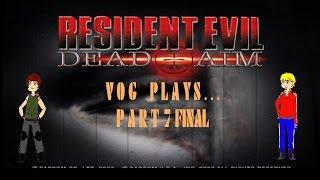 vog let s plays resident evil dead aim part 7 final final battle