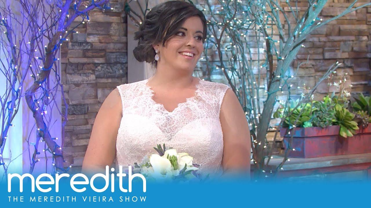 Curvy Girl Bridal Fashion Show Plus Surprise The Meredith Vieira