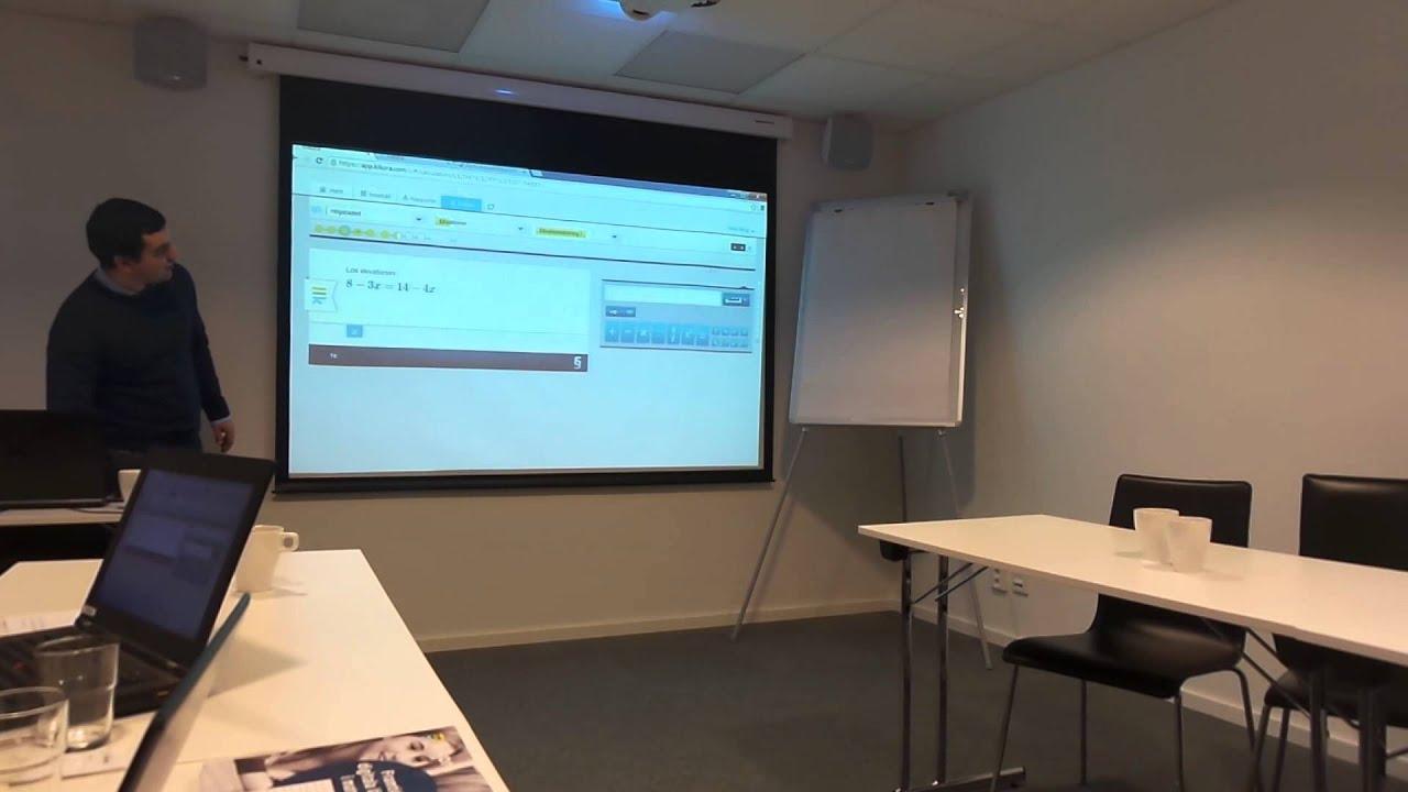 Workshop Digital matematik med Kikora 3