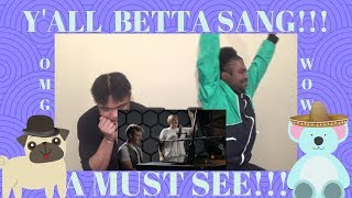 """CLARK BEKHAM AND YEBBA """"GRAVITY""""A MUST SEE!!! REACTION!!!(CJ & TRAYLOVE)"""