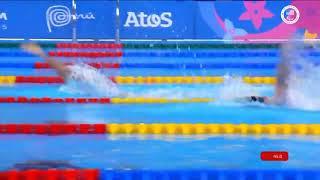Carson Sanocki Sets Parapans Record in SM13 200M IM Highlight | Parapan American Game