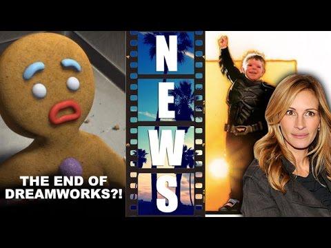 Dreamworks Animation Layoffs, Batkid movie with Julia Roberts! - Beyond The Trailer