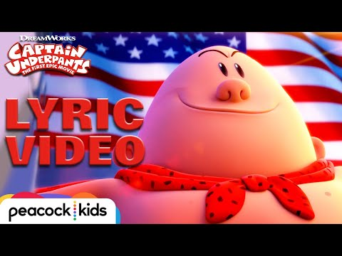"""Captain Underpants Theme"" Official Lyric Video 