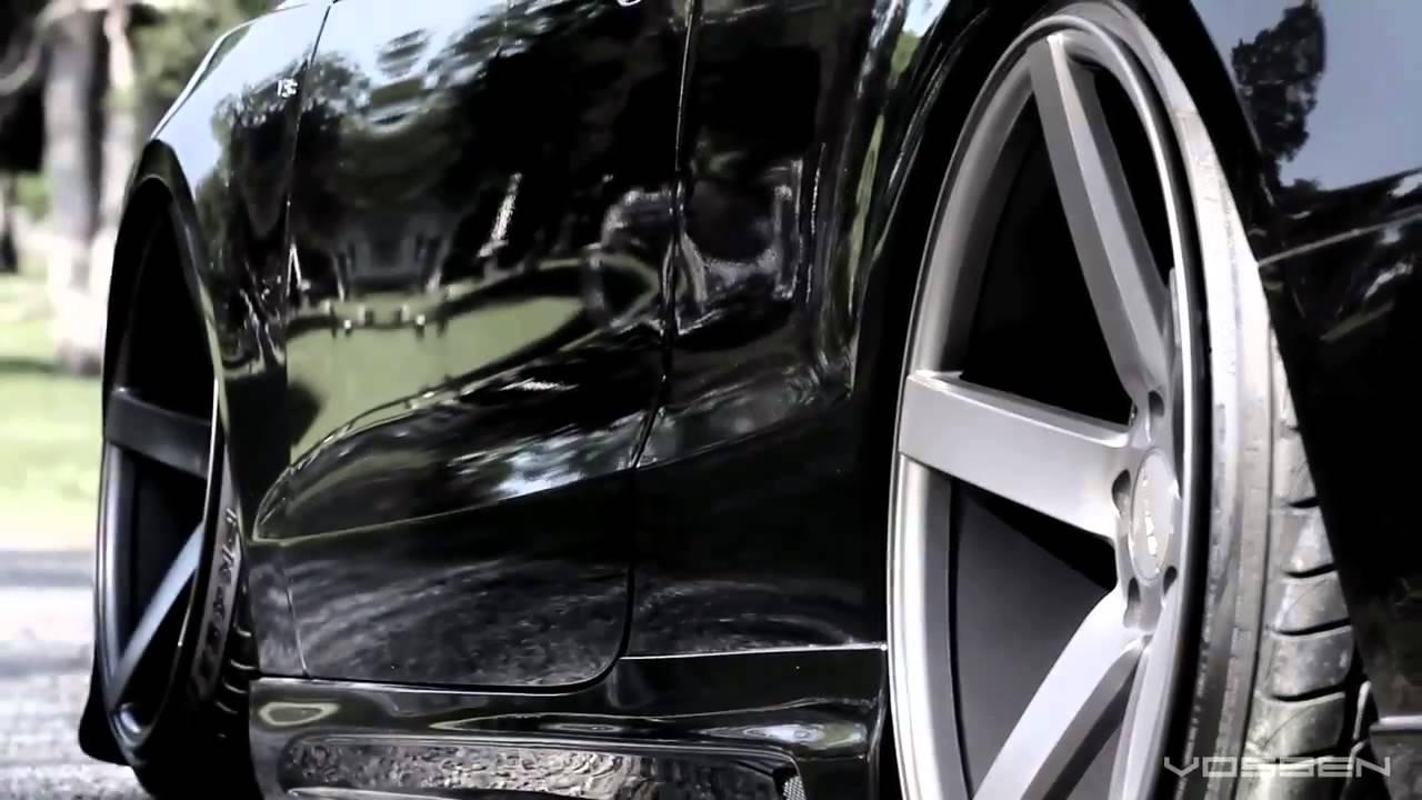 Audi S5 Bagged On 20 Vossen Vvs Cv3 Concave Wheels Youtube