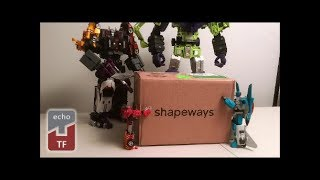 Echotransformer Shapeways Unboxing - February Upgrade Fever