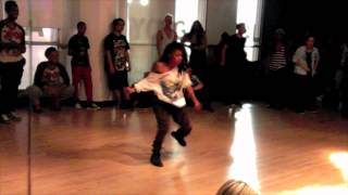 Madonna - Girl Gone Wild Choreography by: Dejan Tubic & Janelle Ginestra