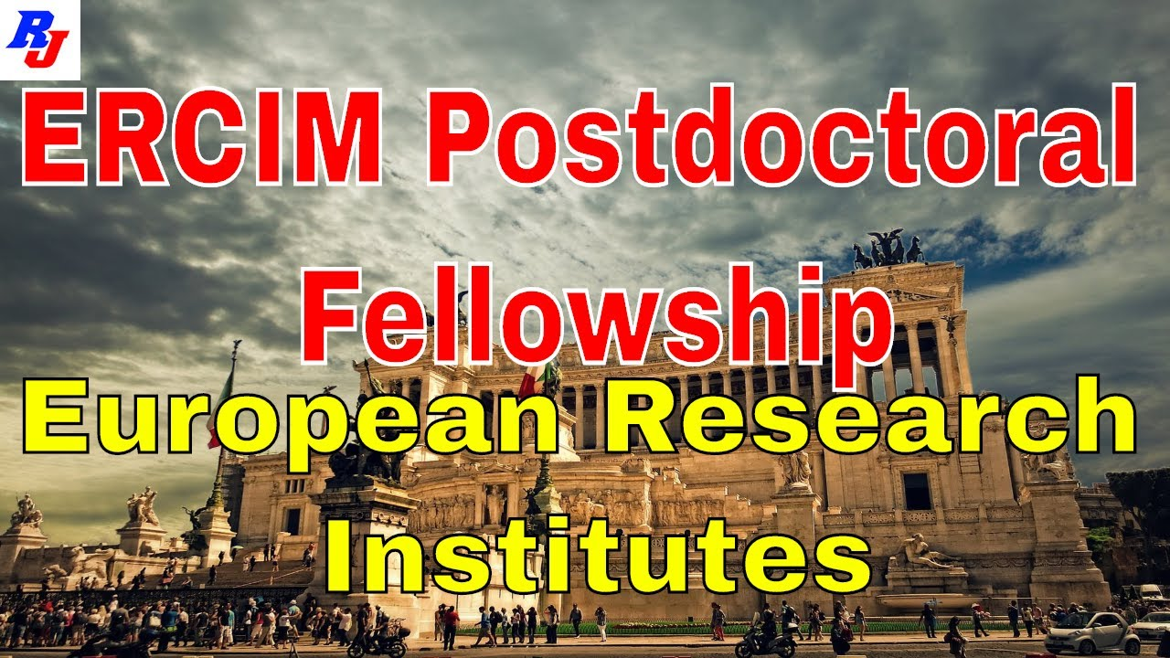 ERCIM Postdoctoral Fellowship in Leading European Research Institutes