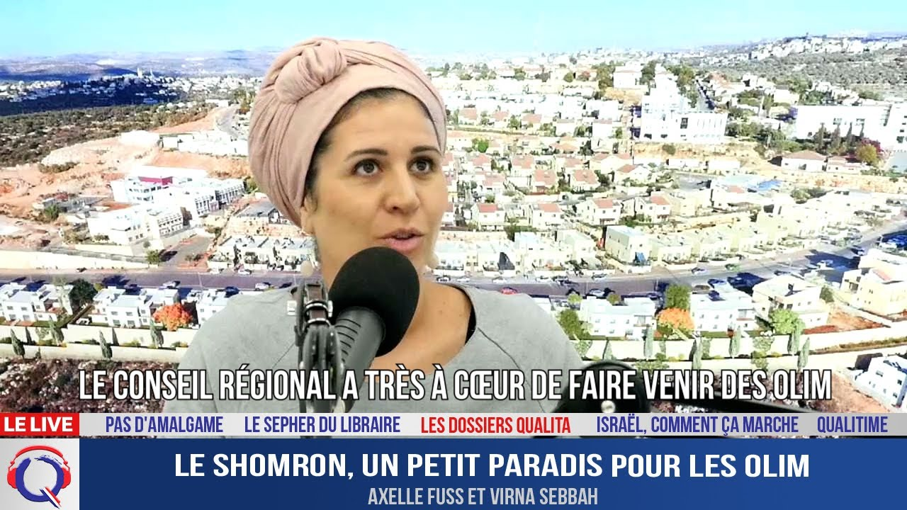 Le Shomron, un petit paradis pour les olim - Dossier#230
