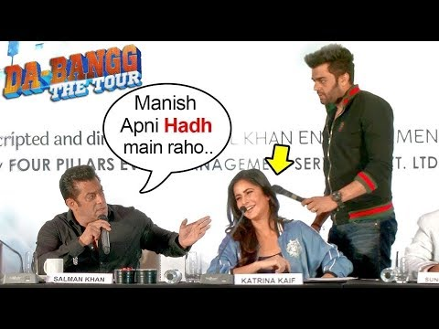 Salman Khan Gets ANGRY On Katrina Kaif As She Gets FLIRTS With Manish Paul At Da Bangg Tour Pune
