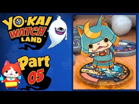 Yo-Kai Watch Land - Part 5 |  Shogunyan Medal Showcase + Minigames!