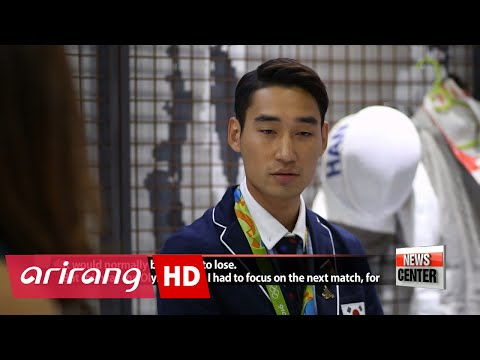 Bronze medalist fencer Kim Jung-hwan discusses his journey to, and, past Rio