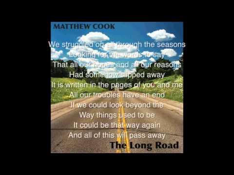 Matthew Cook   End Of The Century   Lyrics