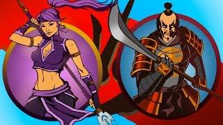 Shadow Fight 2 #34 мультик про БОЙ с тенью 2 детское развлекательное видео игра от KID