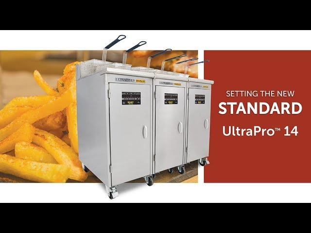 The New Ultrafryer UltraPro 14 Deep Fryer