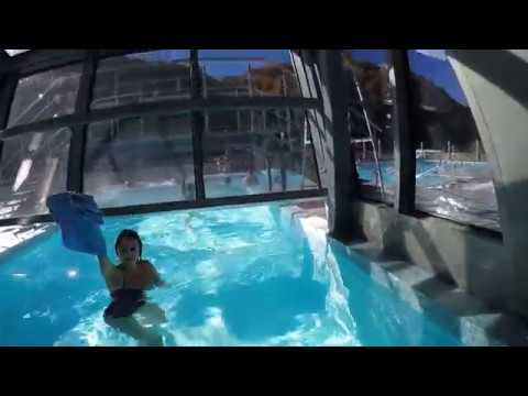 Обзор лучшего аквапарка Сочи,Галактика, с потрясающим видом на горы!