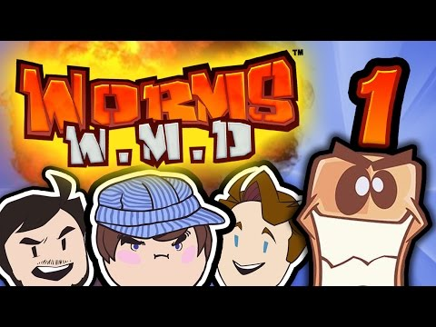 Worms W.M.D: Ross Has Worms - PART 1 - Steam Train |