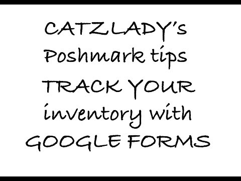 Google Forms For Tracking Supplies And Inventory