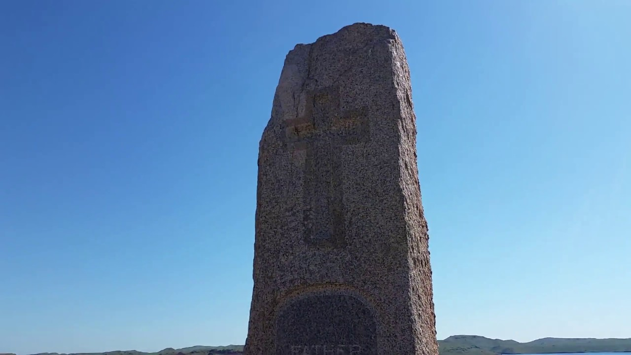 Father DeSmet Monument near Buffalo, Wyoming - May 31, 2017 - Travels With Phil
