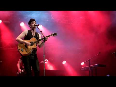 Man On A Wire - The Script LIVE - Gibraltar Music Festival 2014