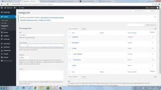 Wordpress Kategori, Sayfa ve Menü Oluşturma