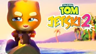 Talking Tom Jetski 2 - Outfit7 Limited Ginger's Sandcastle Day 5 Precise Location Walkthrough