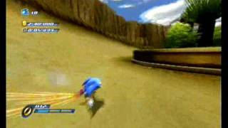 Sonic Unleashed Wii gameplay