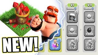 LOOK WHAT WAS ADDED INTO CLASH OF CLANS!! WHATS COMING NEXT IN 2018!?