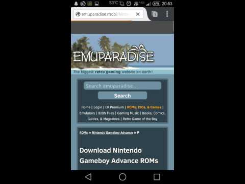 How To Get ROMs From Emuparadise (PC, Android)