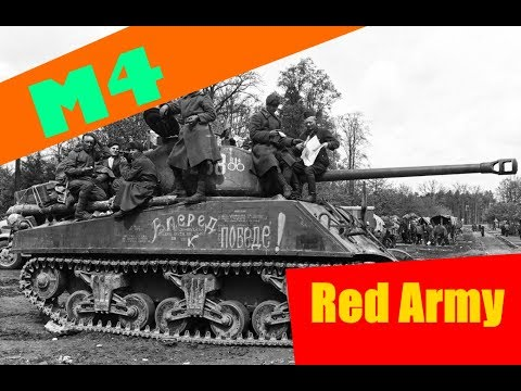 M4 Sherman in Red Army Service during World War 2