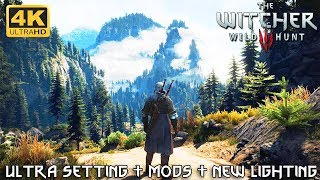 The best possible graphics of witcher 3 in 2019. fully maxed out native graphic settings + nearly 20 texture and objects mods last version phoen...