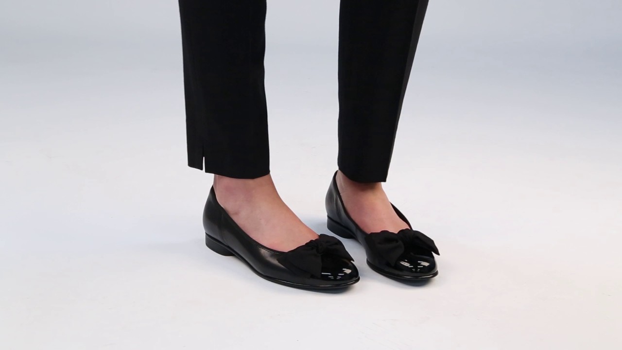 Gabor Amy Women's Leather Ballet Pumps