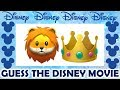 CAN YOU GUESS THE DISNEY MOVIE BY THE EMOJI?