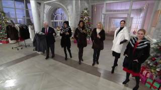 Dennis Basso Faux Fur Coat with Removable Hood and Collar on QVC