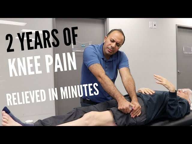 2 Years of Knee Pain Relieved In Minutes (REAL RESULTS!!!!)