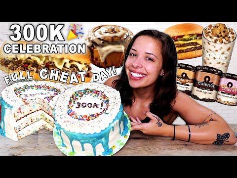 FULL CHEAT DAY!! 300K Celebration (7,800 calories!)