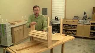Building an Adirondack Chair Part 2