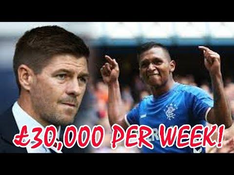 Alfredo Morelos £30,000 PER WEEK!?