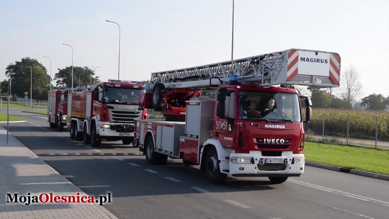 29.09.2017 Oleśnica – ćwiczenia straży pożarnej w GKN Driveline Polska