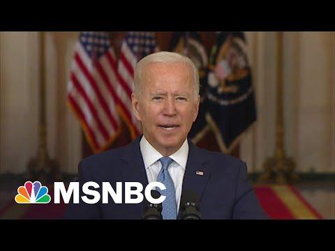 Vets Group Leader Praises Biden Strength For Afghanistan Exit; Pushes Back On Critics