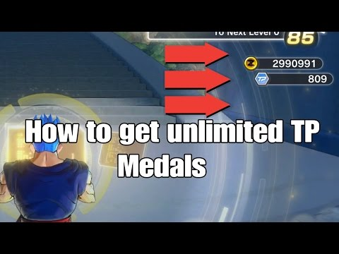 Dragonball Xenoverse 2 How to Farm UNLIMITED TP Medals!!!!!