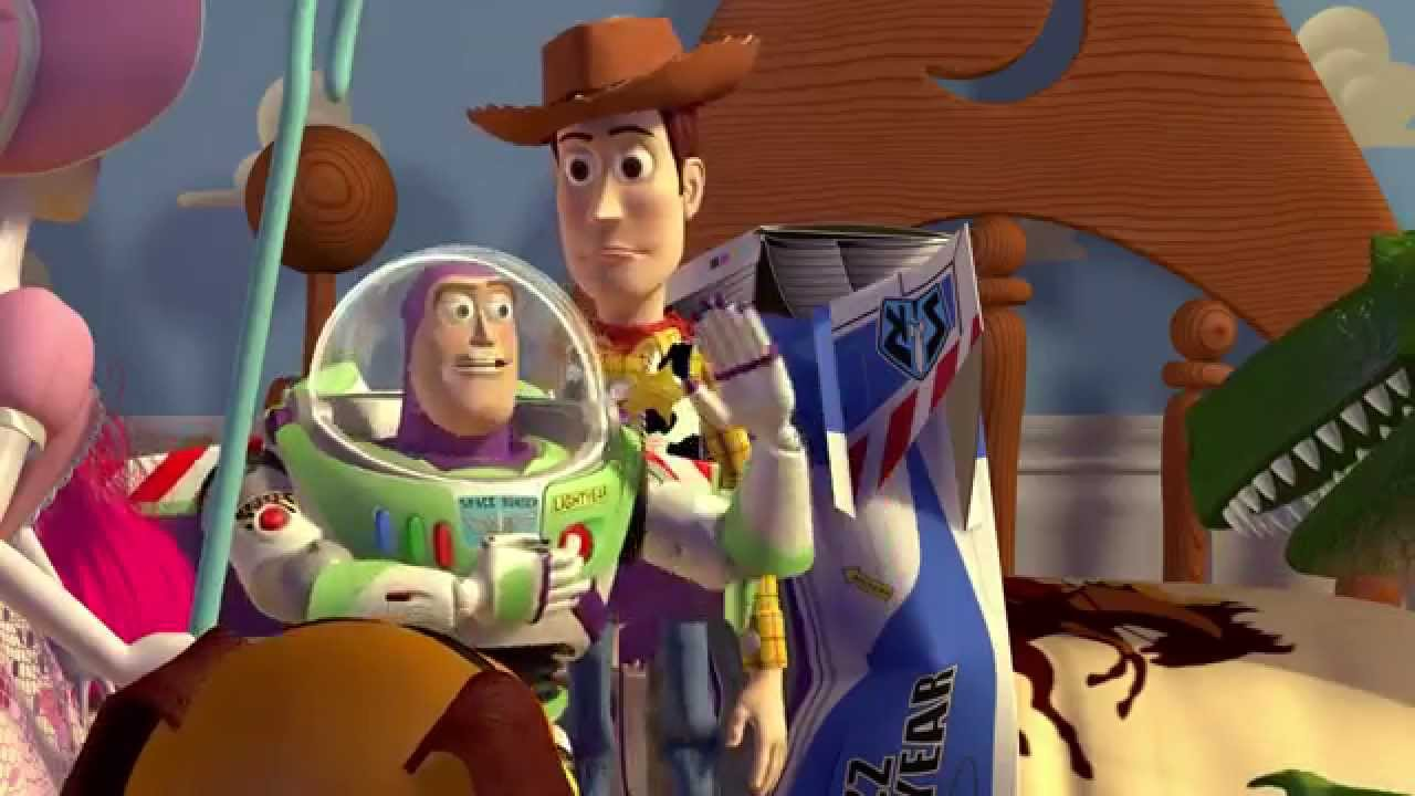 Toy Story 1995 1080p Arabic dubbed - Sample - مقطع ممتع من حكاية لعبة الجزء الاول