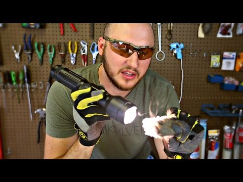 Can Flashlight Set Steel Wool on Fire?