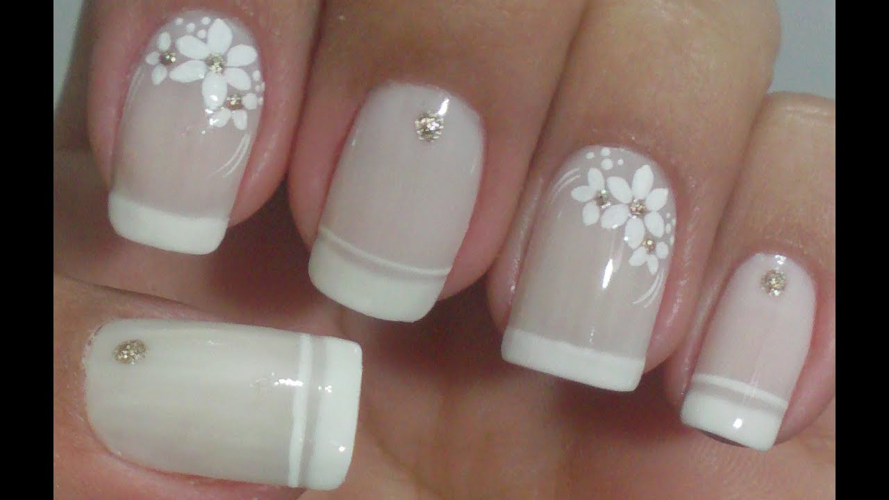 Nails Decorated Special Month Of The Brides